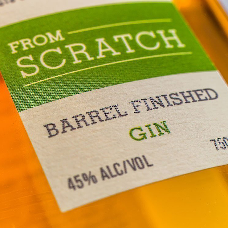 Scratch Barrel Finished Gin