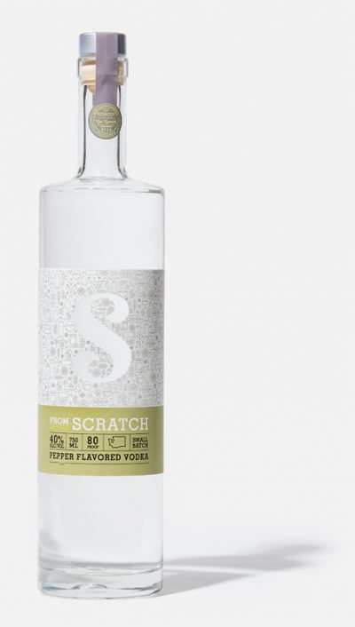 scratch pepper vodka