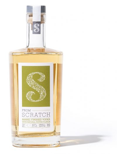 scratch barrel finished vodka