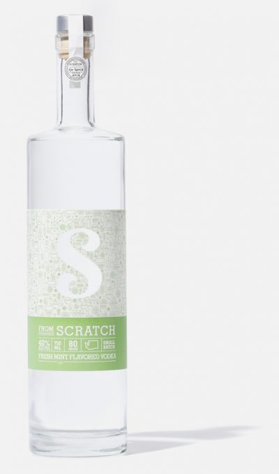 scratch mint vodka