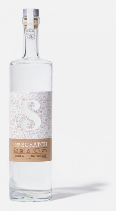 scratch wheat vodka