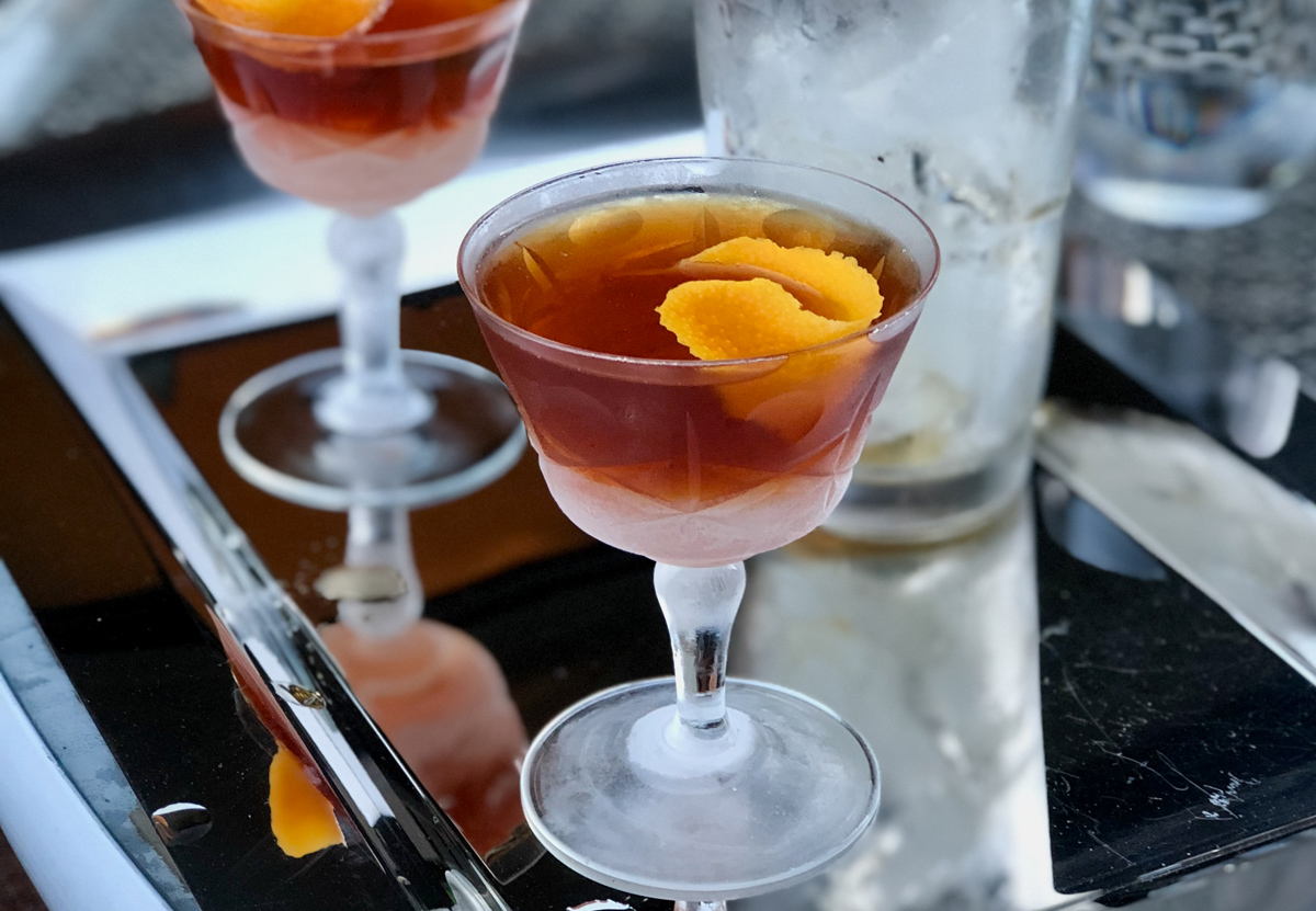 Scratch cocktail recipes