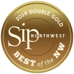 sipNW 2019 Badge Double Gold