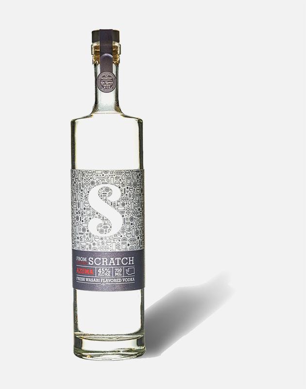 Scratch Azuma Wasabi Vodka