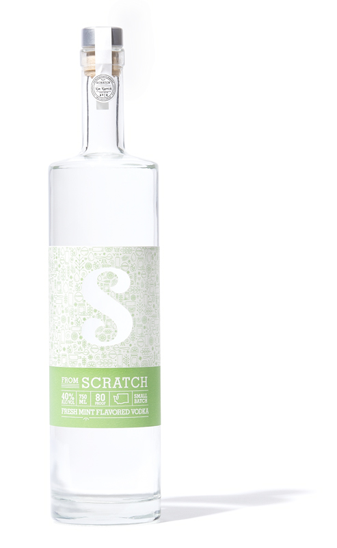 Scratch Mint Flavored Vodka
