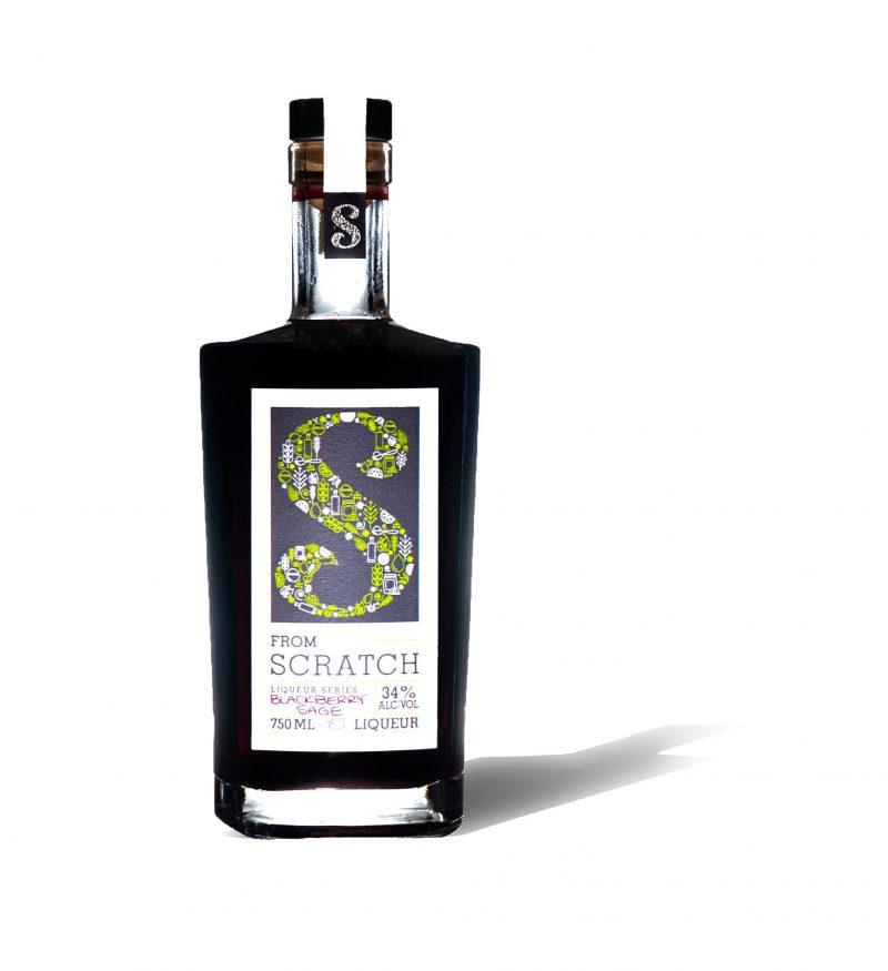Blackberry-Sage Liqueur